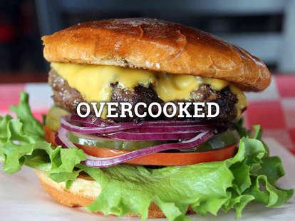 burger, cheeseburger