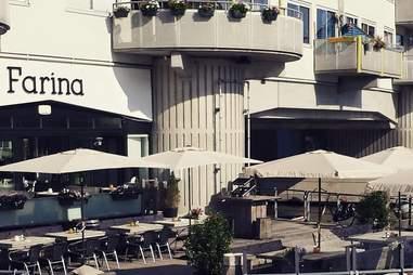 Amsterdam Farina's outside patio