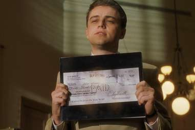 Leonardo DiCaprio in Catch Me If You Can