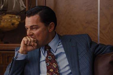 Leonardo DiCaprio in Wolf of Wall Street