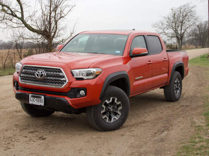 Breakfast Tacos in a Tacoma