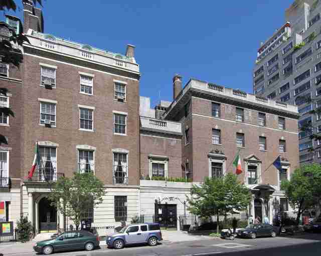 Italian Consulate General, New York