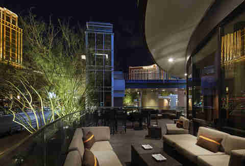 Davidoff Cigar Bar in Fashion Show Mall in Las Vegas, Nevada