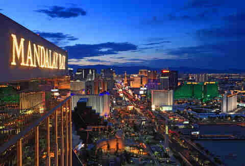 Image result for mandalay bay night sky