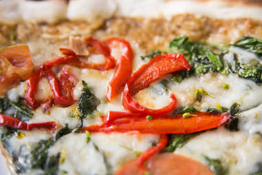 red peppers on pizza