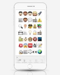 Spotlight as emoji