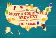 The Most Underrated Brewery in Every State