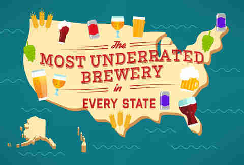 Map of All 50 States' Most Iconic Beer/Liquor - Thrillist