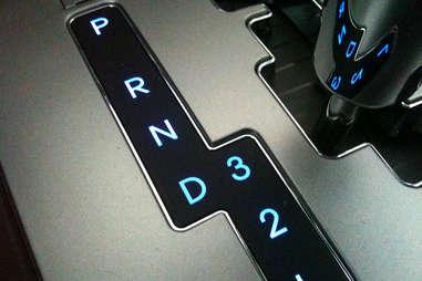 The PRNDL automatic gears