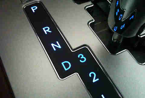 The PRNDL automatic gears