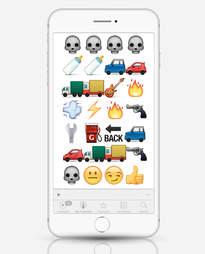 Mad Max: Fury Road as emojis
