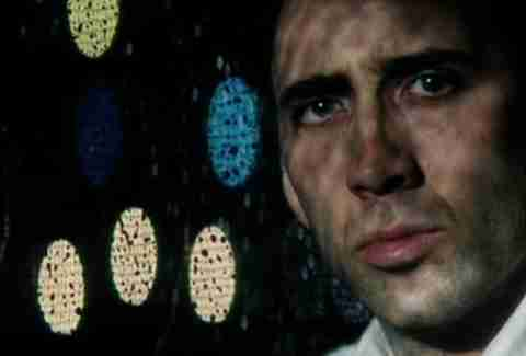 Nicolas Cage in Martin Scorsese's Bringing Out The Dead