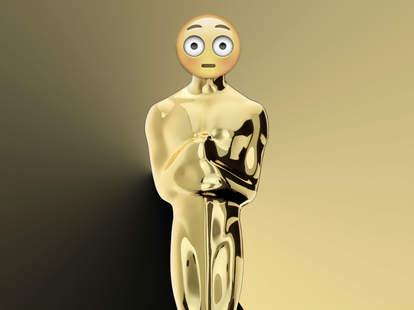 Best Picture Oscar Nominees as emoji