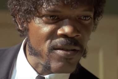 Samuel L Jackson in Pulp Fiction