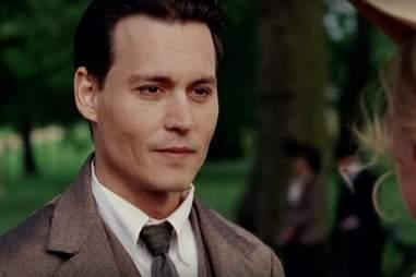 Johnny Depp in Finding Neverland