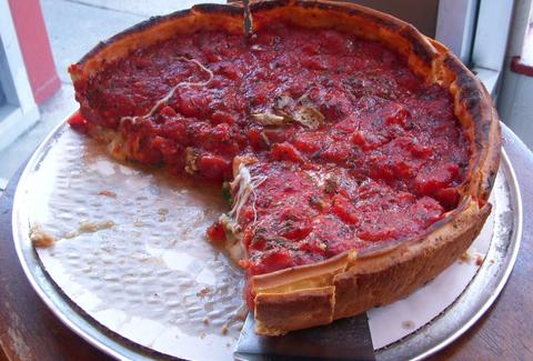 chicago deep dish pizza zachary's san francisco