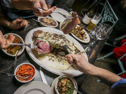 M. Wells Steakhouse in Long Island City, New York
