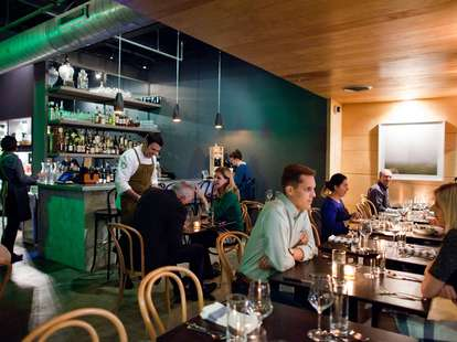 patrons dining at the 404 kitchen