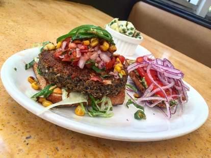 southwestern burger native foods cafe chicago