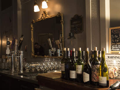 Colorado Wine Co., wine bottles, Los Angeles wine bar