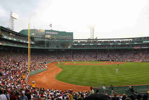fenway park, home of boston red sox