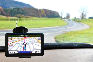 gps navigation, car