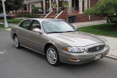 2002 Buick Le Sabre silver