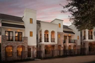 houston mansion airbnb sunset