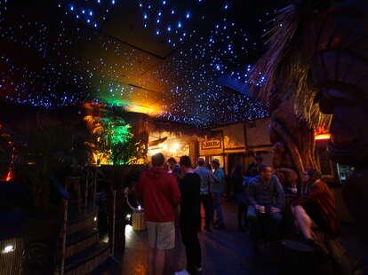 interior of Pagan Idol bar