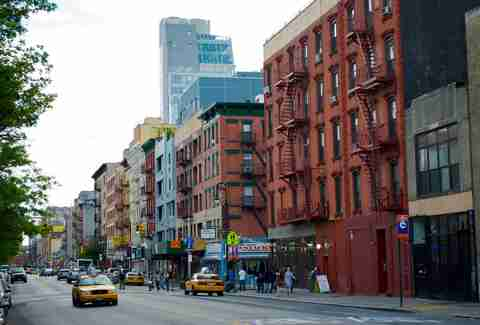 Lower East Side New York City