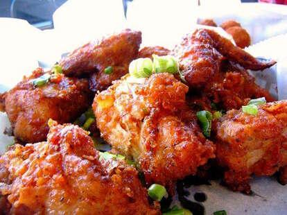 bbq chicago crisp wings korean food