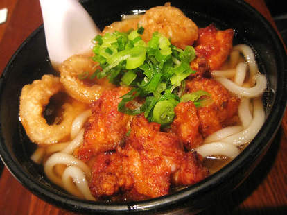 ramen fried squid udon japanese food udon west nyc