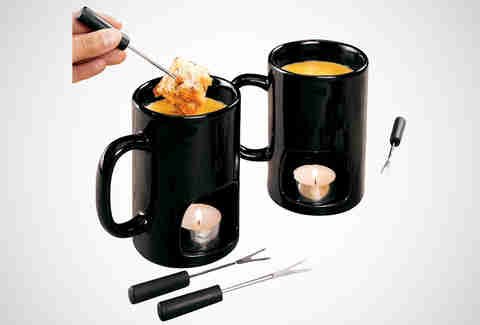 The personal fondue mug from Amazon