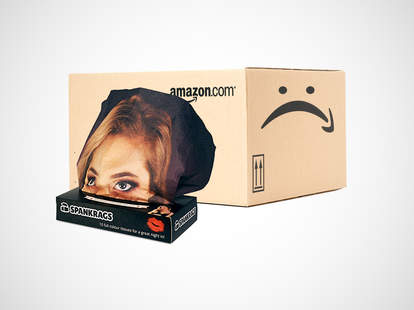 Amazon box with embarrassing item