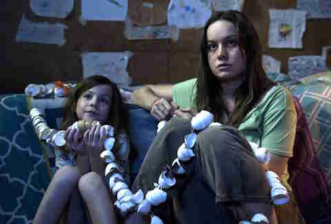 Oscar winner Brie Larson in Room