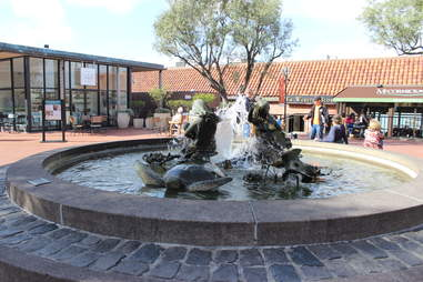the fountain at Ghirardelli Square