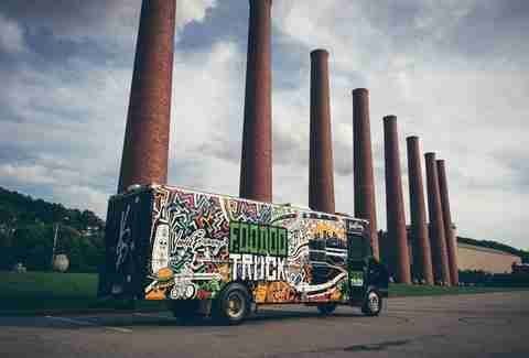 Voodoo brewery food truck