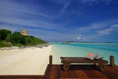 Musha Cay beach