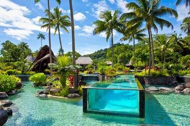 Laucala Island fiji pool resort