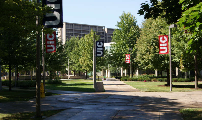 University of Illionis at Chicago campus