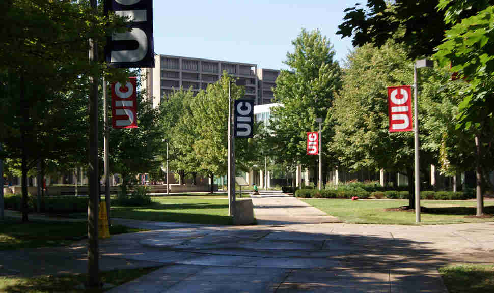University of Illionis at Chicago campus