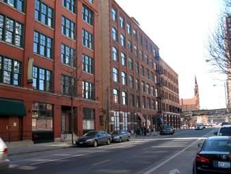 Illinois St. near Wells St.