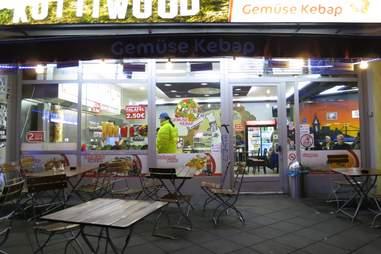 Kottiwood doner kebabs in Berlin, Germany