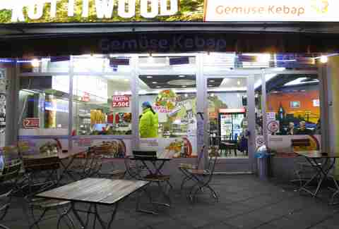 Kottiwood doner kebabs in Berlin, Germany