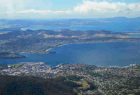 hobart, mount wellington, tasmania