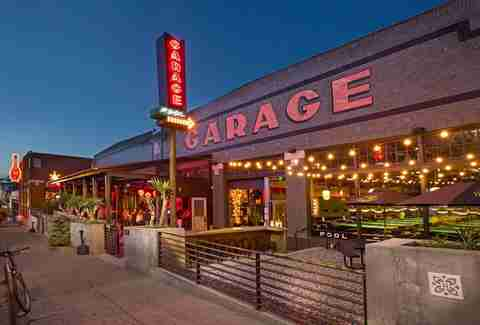 Garage bar and recreation center in Capitol Hill, Seattle, Washington