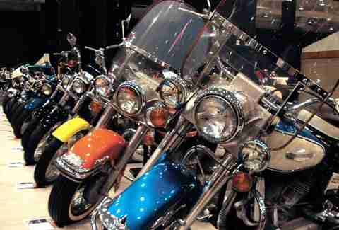 Piston Powered Auto-Rama, motorcycles