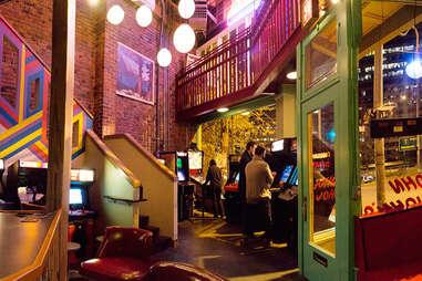 John John's Game Room in Capitol Hill, Seattle, Washington