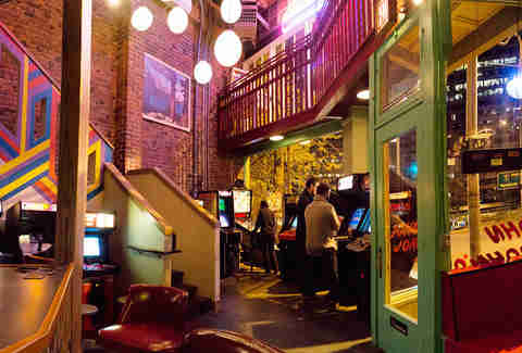 John John's Game Room in Capitol Hill, Seattle, Washington