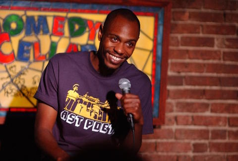 Dave Chappelle at the Comedy Cellar in New York City